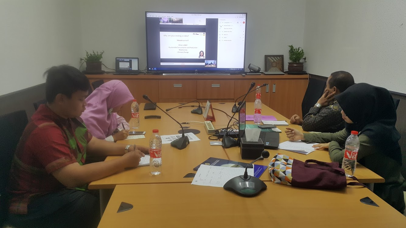Online Conferences on Empowering Asia Pacific Students Leadership in ESD Through Networking